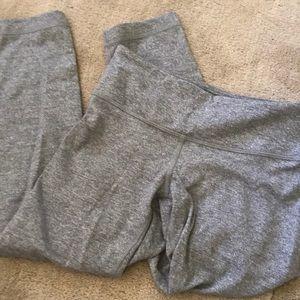 Light gray wash cropped lululemon leggings